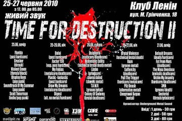 Time For Destruction II (CONTROLLED INSANE TOUR)